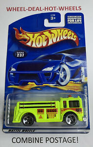 HOT WHEELS (2001) FIRE-EATER RARE COLLECTIBLE NO.237 HTF MOC!