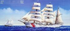 """USS EAGLE"", NAVIRE-ECOLE US COAST GUARDS - KIT AOSHIMA 1/350 n°0142144"