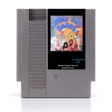 Bubble Bath Babes NES Nintendo USA adult magic puzzle video game cartridge cart