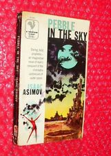 Pebble in the Sky  by Isaac Asimov paperback  Bantam Giant  A1646  c.1957