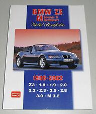 Bildband Gold Portfolio BMW Z3 Coupe / Roadster / M, Baujahre 1995 - 2002