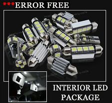 21x Bulbs For Audi A6 C5 4B Avant INTERIOR PACKAGE XENON White LED LIGHT KIT