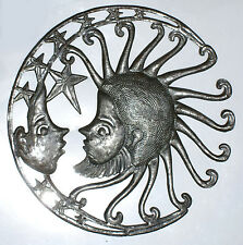 Sun with Moon Wall Decor Paintings Metal Art For Sale Online Shopping Home 24""