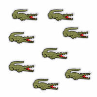 Alligator Embroidered Sew Iron On Patches Badge Bag Hat Fabric Applique Stickers