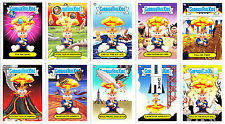 Garbage Pail Kids Bns1 2012 Complete 10-card Set of Adam Bomb Through History