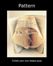 Car Book Folding  PATTERN to create your own Folded book Beetle