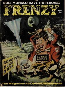 FRENZY #1 April 1958 SPANKING PANELS MAD Imitator