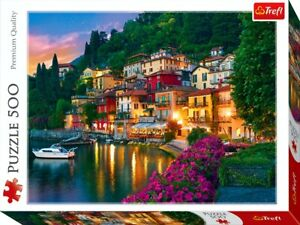 TREFL LAKE COMO ITALY 500 PCS JIGSAW PUZZLE