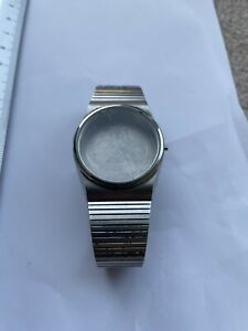 1970s Citizen Case With Stainless Steel Bracelet And Glass