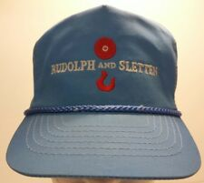 Rudolph And Sletten Construction Company Contractor Otto Cap Embroidered Hat