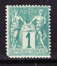 FRANCE  - Classique - 1876 - Sage 1 c. N° 61 - NEUF * - 130 euros