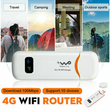 4G LTE USB Dongle WiFi Router Wireless Hotspot Broadband Modem for AT&T T-Mobile