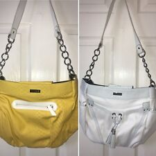 Miche Demi Shell Purse bag lot: Megan, Summer, silver chains white strap handle