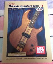 Mel Bay Methode de Guitare Basse 1 Roger Filiberto (French Edition) W/CD Bass