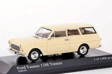 Ford Taunus 12M 1962 creme Minichamps 1:43 NEU/OVP