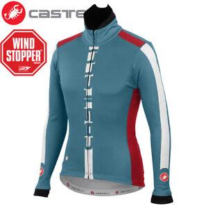 Castelli AR Men's Cycling Jacket - Blue - Size M