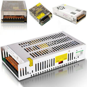 DC 5V 12V 24V 36V 48V Universal Regulated Switch Power Supply LED Light Driver
