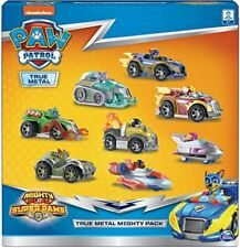 Paw Patrol True Metal Mighty Pack of 8 Collectible Die-Cast Vehicles, 1:55 Scale