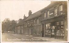 Claydon near Barham & Ipswich. Post Office & Street # 19. J.Fallows, Grocer.