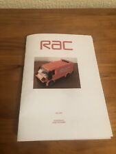 custom built lego RAC Van INSTRUCTIONS ONLY