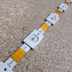 LED backlight module tape 12V 0.72W 55Lm white 7000K 170° IP65