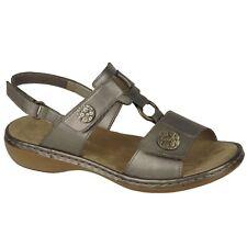Rieker 65974 - 90 TITAN (bronze) Womens Sandals 39 EU
