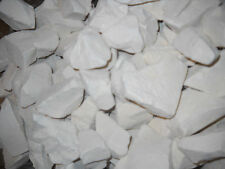 9 POUNDS Georgias Finest kaolin clay chunk White Dirt - FREE PRIORITY SHIPPING.