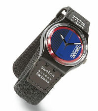 *VINTAGE**NEW CONDITION* SWATCH Access Collection - DOUBLE LOOP - SKB100 *RARE*