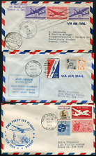 INDIA: (18325) USA First Flight cancel/FFC covers