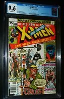 THE UNCANNY X-MEN #111 1978 Marvel Comics CGC 9.6 NM+