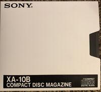 Genuine Sony 10 XA-10B 10 Compact Disc Changer Magazine Model CD Cartridge