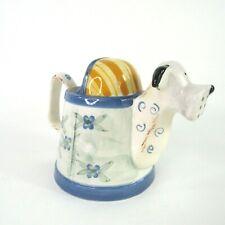 Puppy Dog Herb Garden Ceramic Watering Pitcher