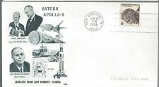 1968 Apollo Saturn 5 Launched, Orbit Covers