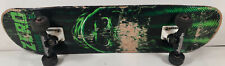 Chris Cole Zero Grim Reaper Skateboard Complete Green And Black W/ Ruckus Trucks