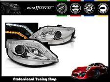 Seat Ibiza 2008-2012 Chrome Phare avant Projecteur N//S Passager Gauche