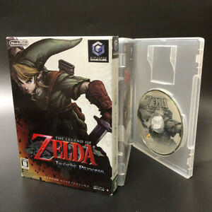 The Legend of Zelda Twilight Princess Nintendo GameCube Japan GC JP
