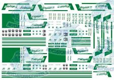 Dubai Police Decals | Waterslide Decals for Hot Wheels & 1:64 Scale Model Cars