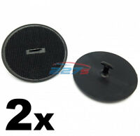 2x Floor Mat Clips for BMW and Mini Cars- Hook & Loop Carpet Fixings 07149166609