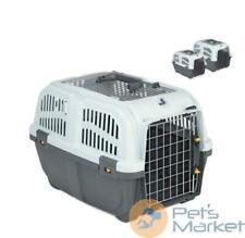 Pets Trasportino skudo iata open 2 per cane gatto trasporto auto 55x36x35h