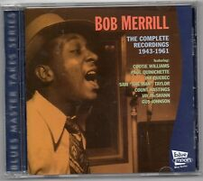 Bob Merrill - Complete Recordings 1943-1961 (CD 2004)    BLUES