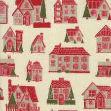 PETITES MAISONS DE NOEL BY French General for Moda M13790-12 - 1/2 Yard Cut