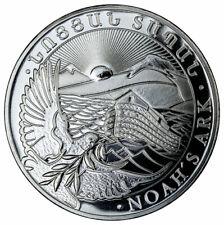 2021 Armenia 1 oz Silver Noah's Ark 500 Dram Coin GEM BU