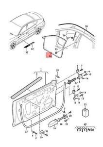 Genuine AUDI A5 S5 Coupe Sportback Audi Sp. Door Seal Inner 8W8831708