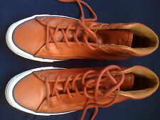 JACK PURCELL CONVERSE Genuine Leather British-Tan High Top Sneakers Boots Shoes