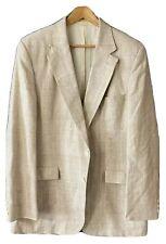 Austin Manor Cream Tweed Sports Coat Blazer 44 Long