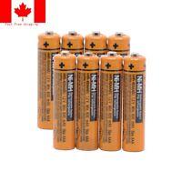 Panasonic cordless phone NI-MH AAA Rechargeable Battery HHR 630mAh1.2V Batteries