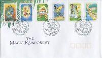 "2002 FDC Australia. Magic Rainforest. P&S. PictPMK ""BUNYIP"""