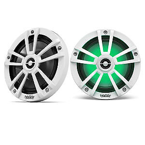 """Infinity 822MLW 900W 8"""" 2-Way Coaxial Marine Speakers WHITE Open Box (Complete)"""