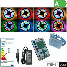 ( 19€/ m) 5m rgb-ic LED rayas con 270x SMD-LEDs - SET COMPLETO luz posible
