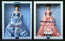 Wedgwood Barbie Doll Wedgewood Jasper Blue & Pink Fashion Lot 2